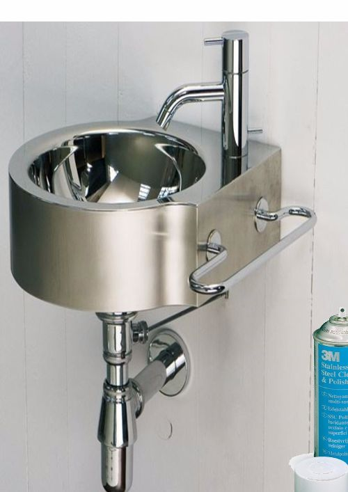 Pulitore-Lucidante-Acciaio-SSC-3M-gr.600-+-Panno-Microfibra-Scotch-Brite